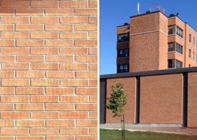 Service de teinture sur brique avant/après (teinture pour peinture de façade à Ottawa) - Teinture Héritage à Lemoyne